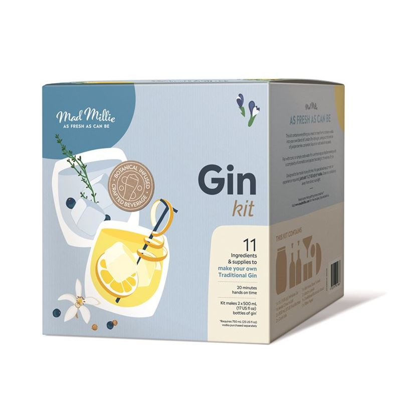 Mad Millie – Handcrafted Gin Kit