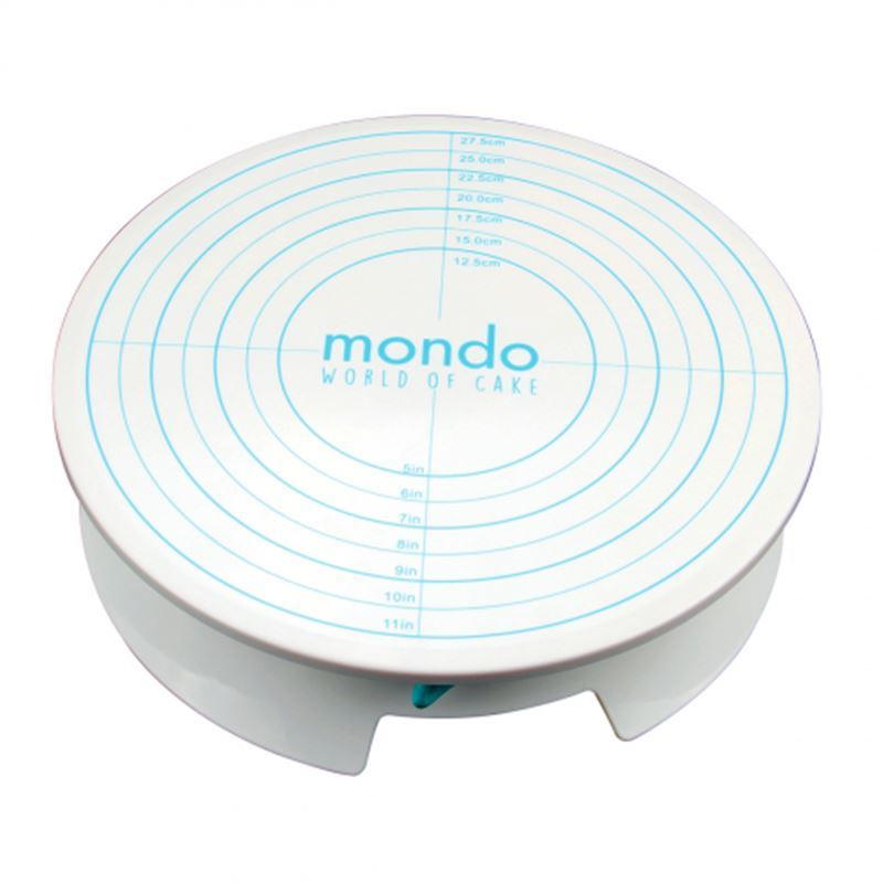 Mondo – Cake Decorating Turntable with Brake 30.3cm