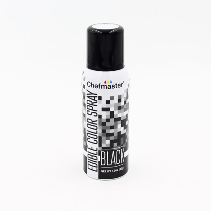 Chefmaster – Edible Food Spray – Black 42gm