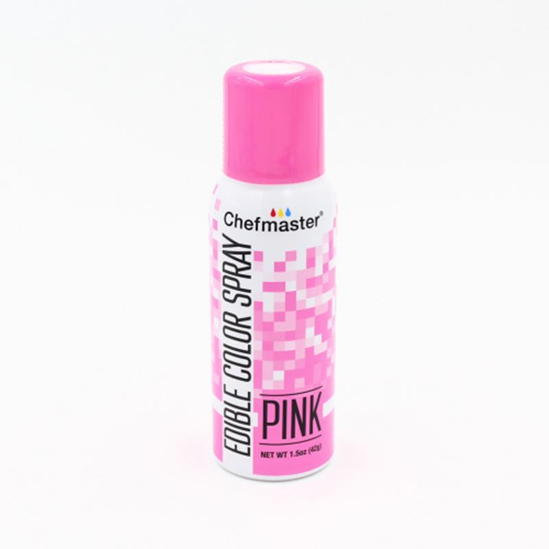 Chefmaster – Edible Food Spray – Pink 42gm