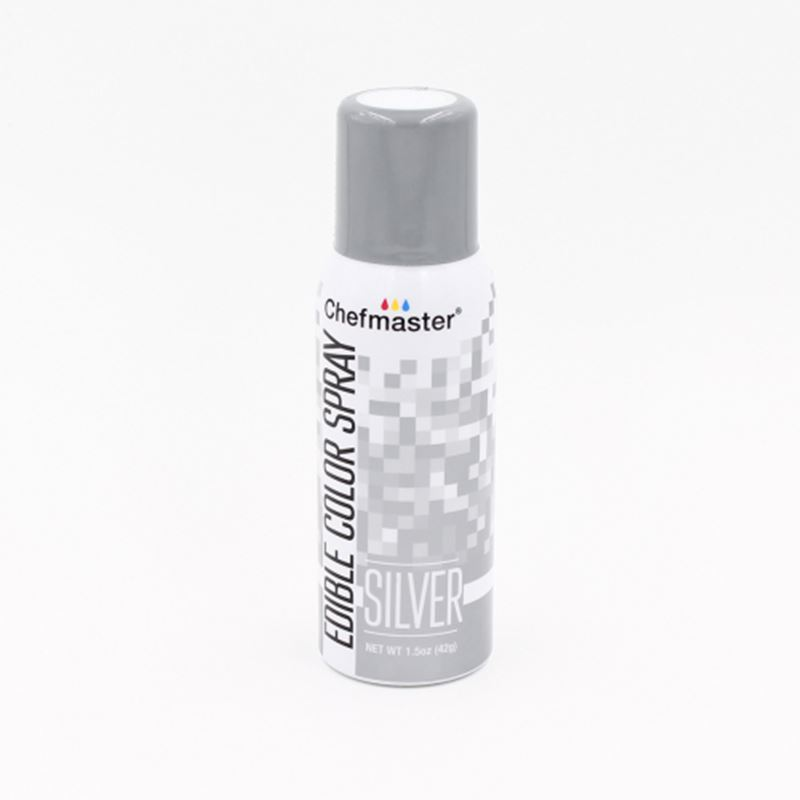 Chefmaster – Edible Food Spray – Silver 42gm