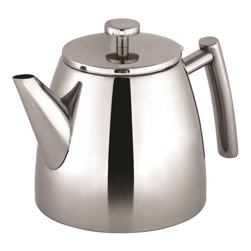 Avanti – Modena Double Wall Stainless Steel Tea Pot 1.2Ltr