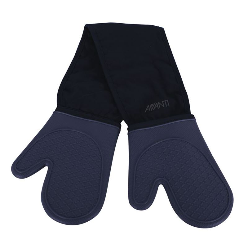 Avanti – Silicone Double Oven Glove Charcoal