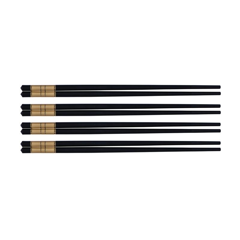 Avanti – Alloy Chopsticks with Gold Trim set of 4