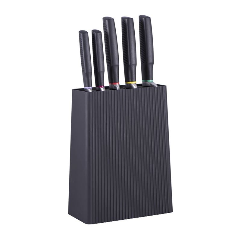 Avanti – Nero Knife Block 6 Pc Set