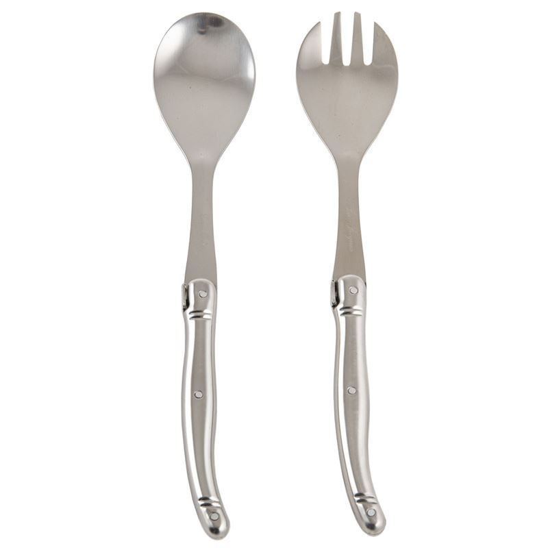 Jean Jacques – Debutant Polished Steel Salad Servers