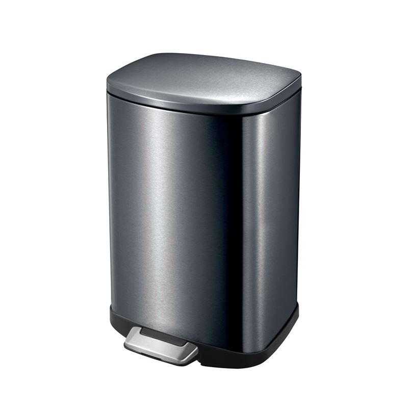 Eko – Della Step Pedal Rubbish Bin 35Ltr Black Steel