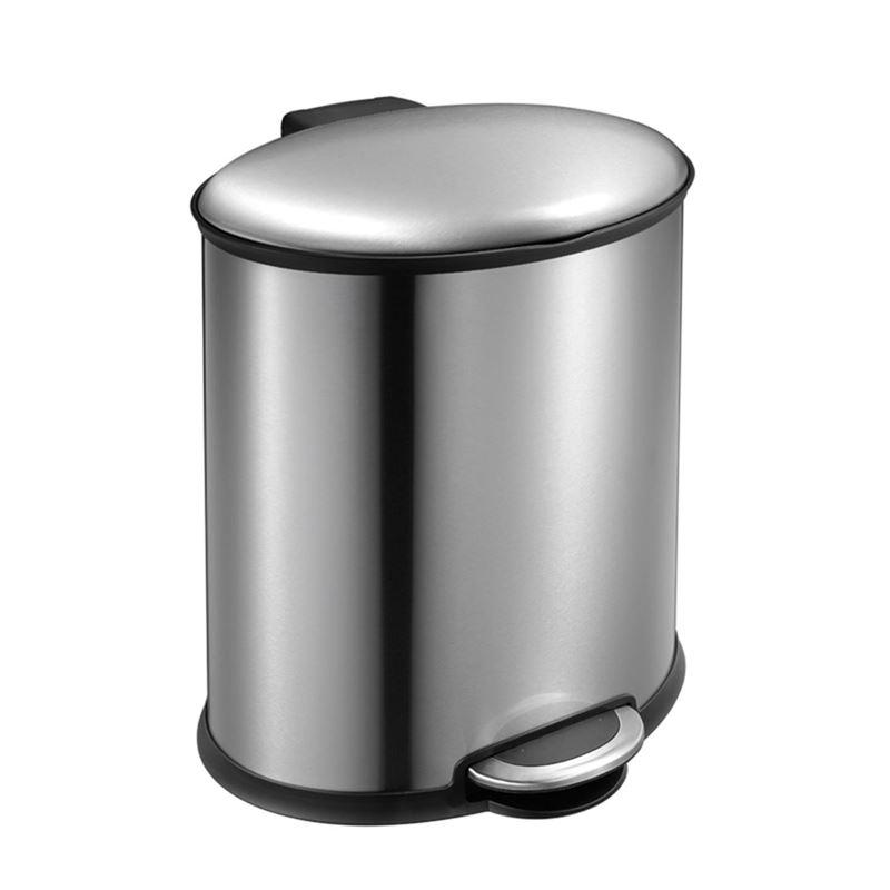 Eko – Ellipse Step Pedal Rubbish Bin 20Ltr Stainless Steel