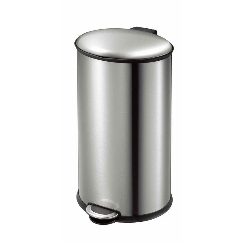 Eko – Ellipse Step Pedal Rubbish Bin 30Ltr Stainless Steel