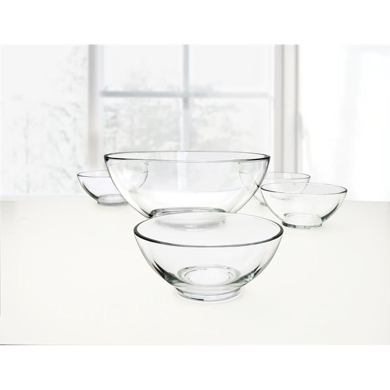 Circleware – Basics 5pc Salad Bowl Set