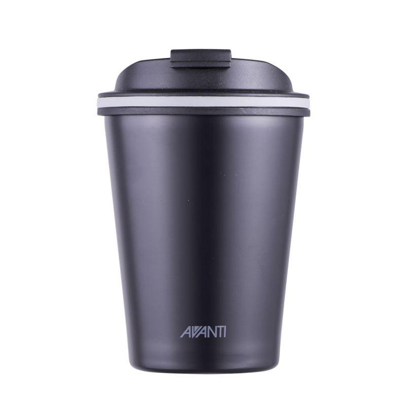 Avanti – GOCUP Double Wall Stainless Steel Coffee Cup 280ml Black