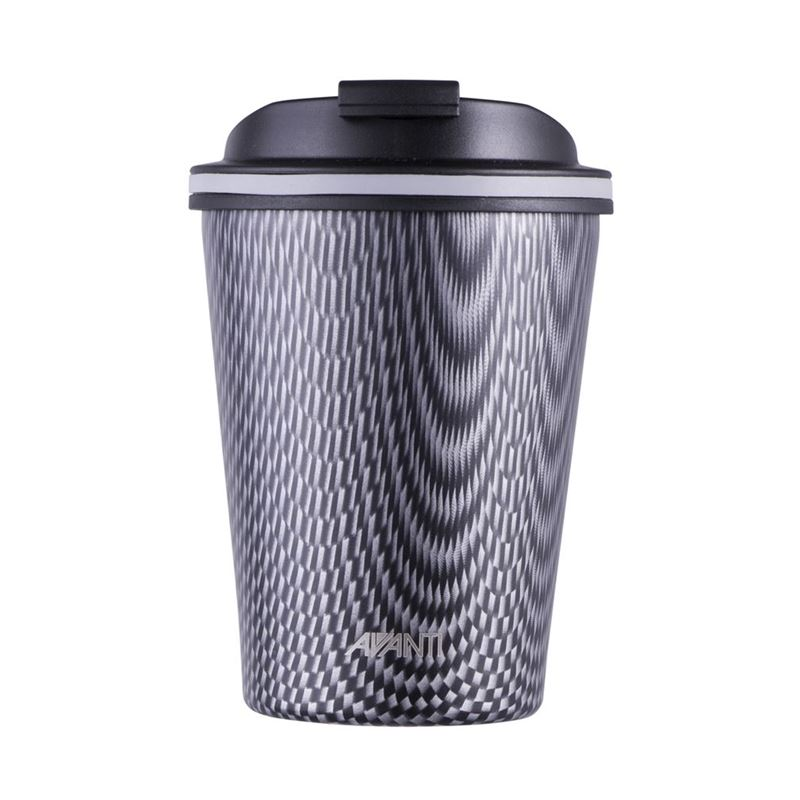 Avanti – GOCUP Double Wall Stainless Steel Coffee Cup 280ml Carbon *