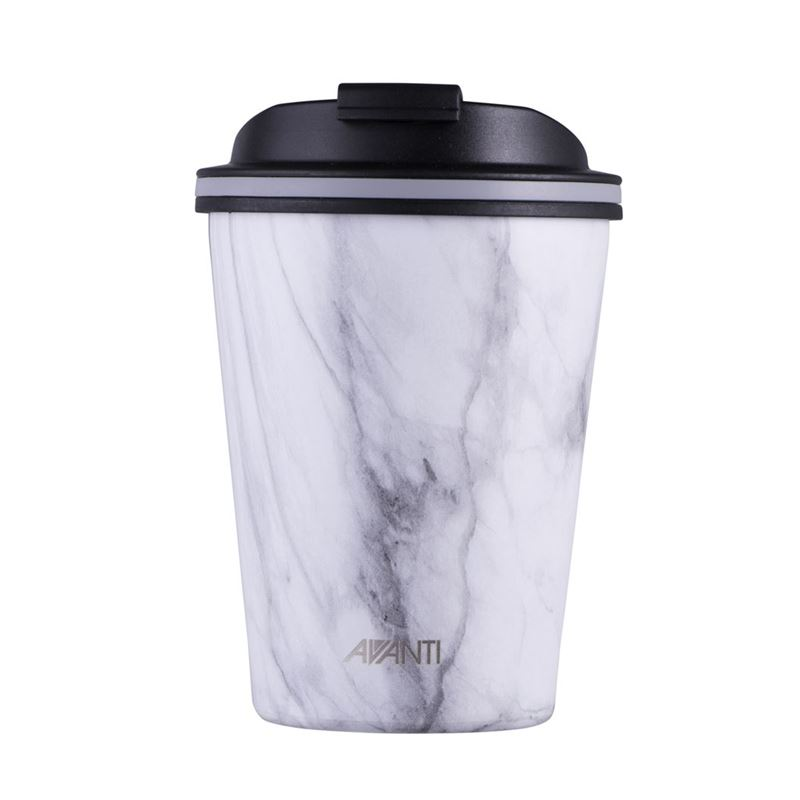 Avanti – GOCUP Double Wall Stainless Steel Coffee Cup 280ml Marble