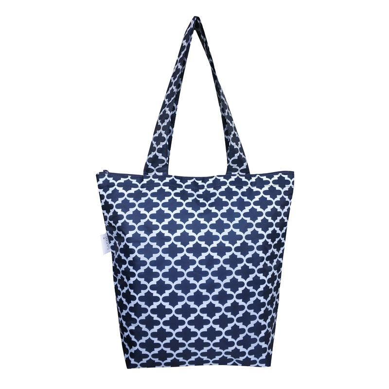 Sachi – Insulated Market Tote Moroccan Navy 27x38cm
