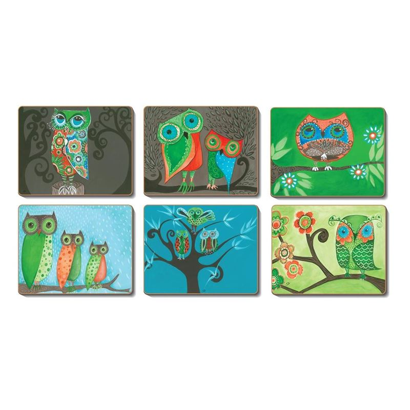 Cinnamon – Owls Placemat 34×26.5cm Set of 6