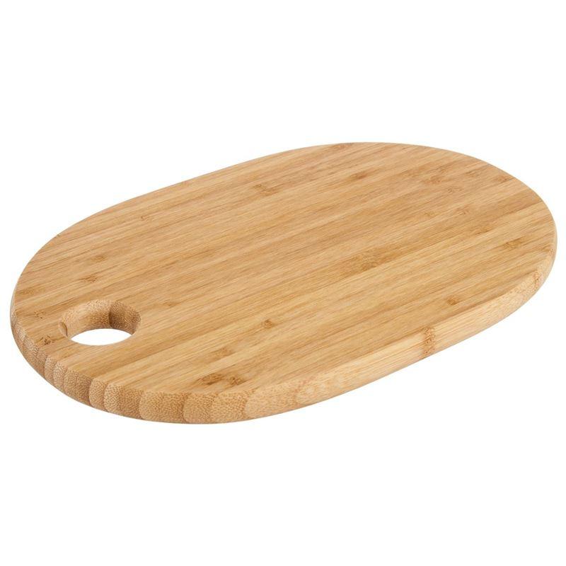 Benzer – Ecozon Bamboo Hanson Bamboo Oval Cutting Board 28x18x1.5cm