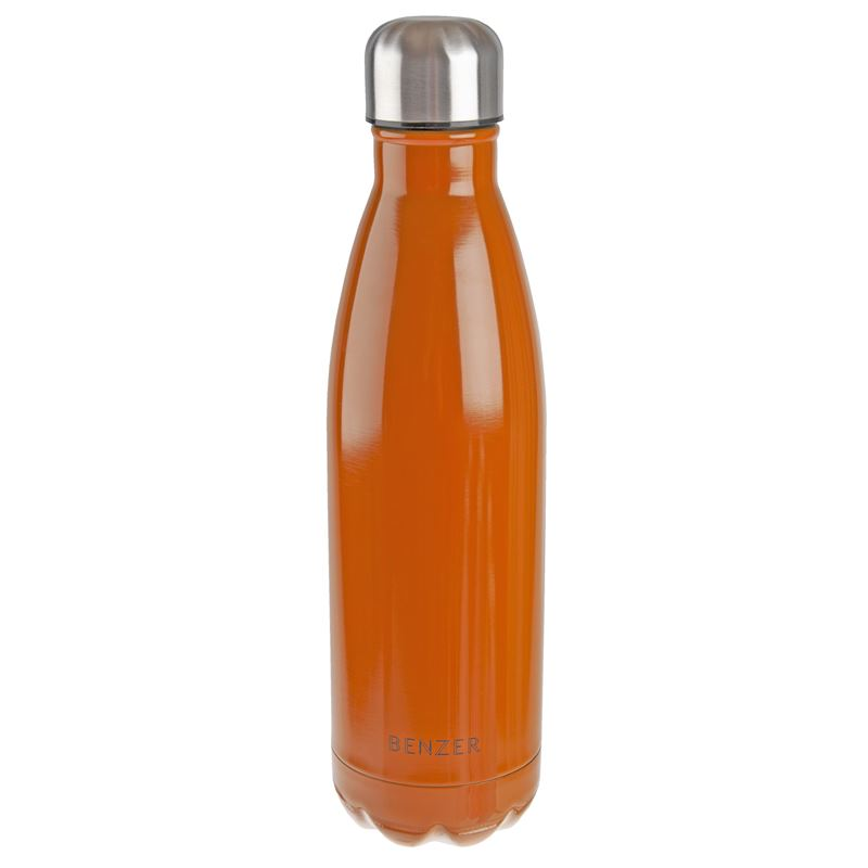 Benzer – Activ Double Wall Insulated Stainless Steel Bottle 500ml Orange