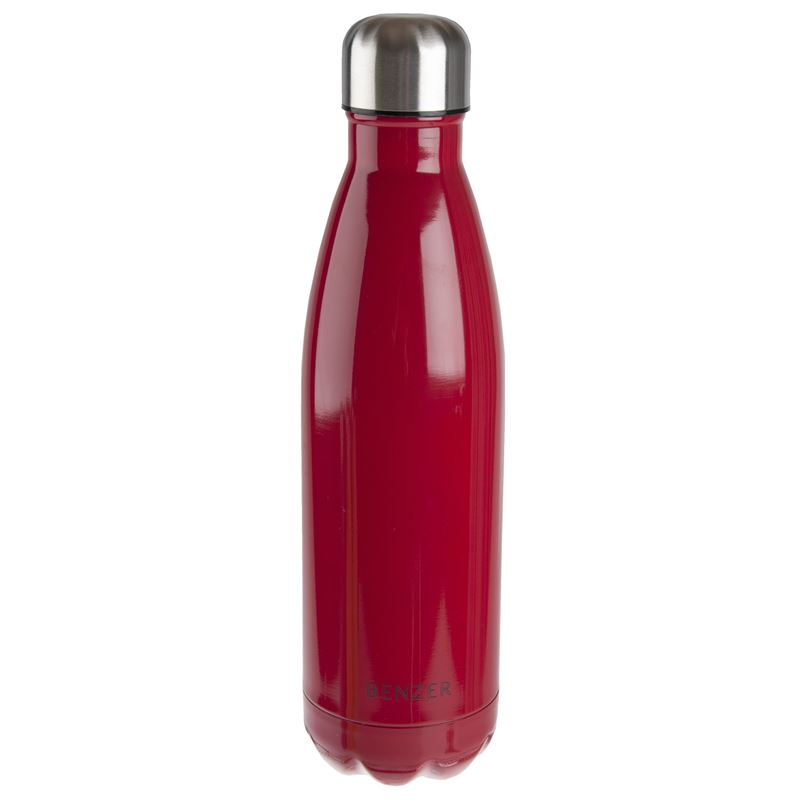 Benzer – Activ Double Wall Insulated Stainless Steel Bottle 500ml Red