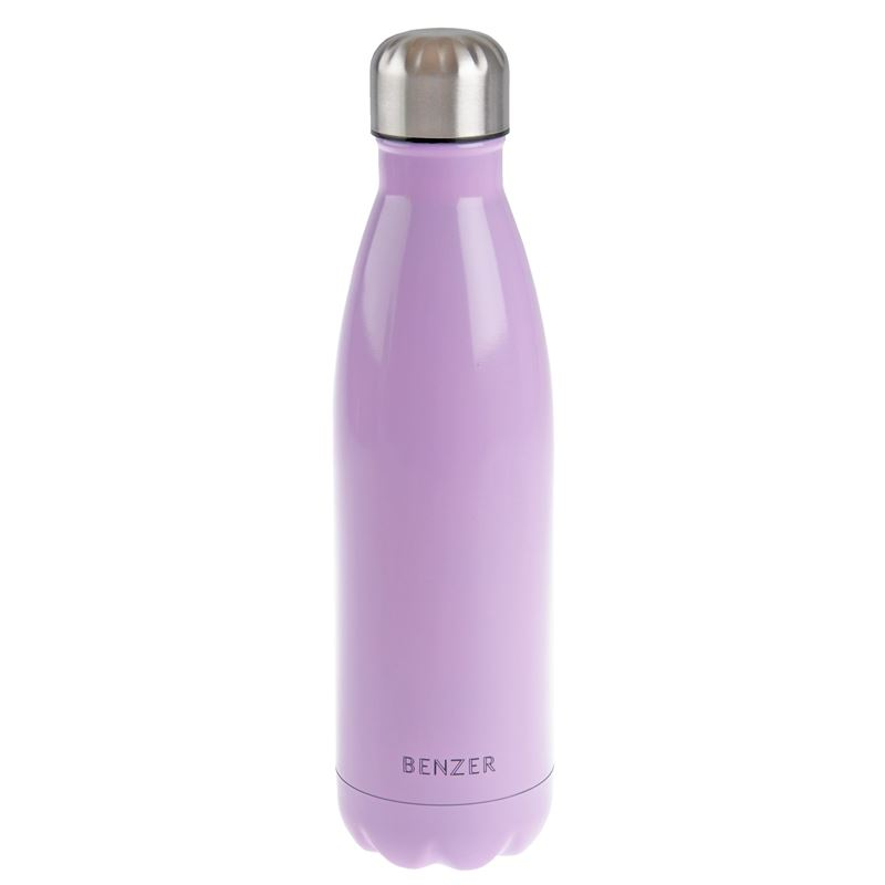 Benzer – Activ Double Wall Insulated Stainless Steel Bottle 500ml Pink