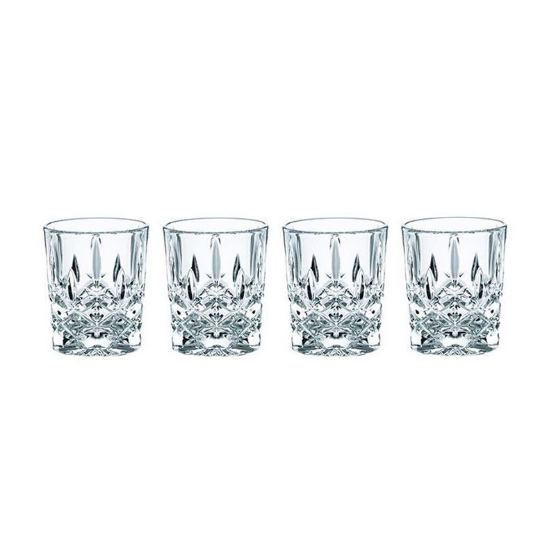 Nachtmann Crystal – Noblesse Shot Glasses 55ml Set of 4 (Made in Germany)