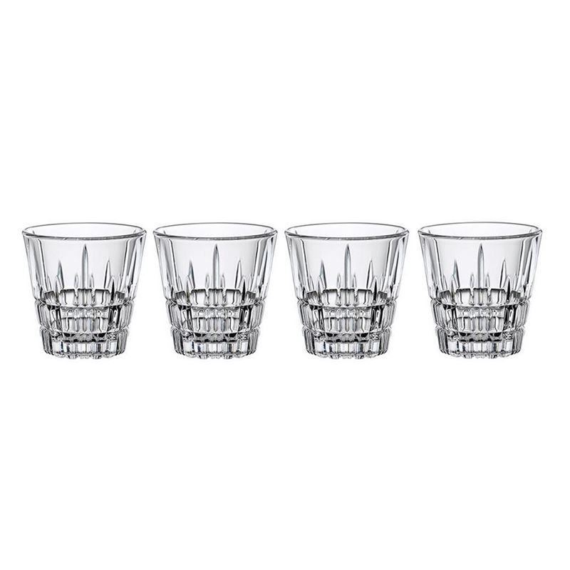 Spiegelau – Perfect Serve Collection by Stephan Hinz Espresso Glasses 80ml Set of 4 (Made in Germany)