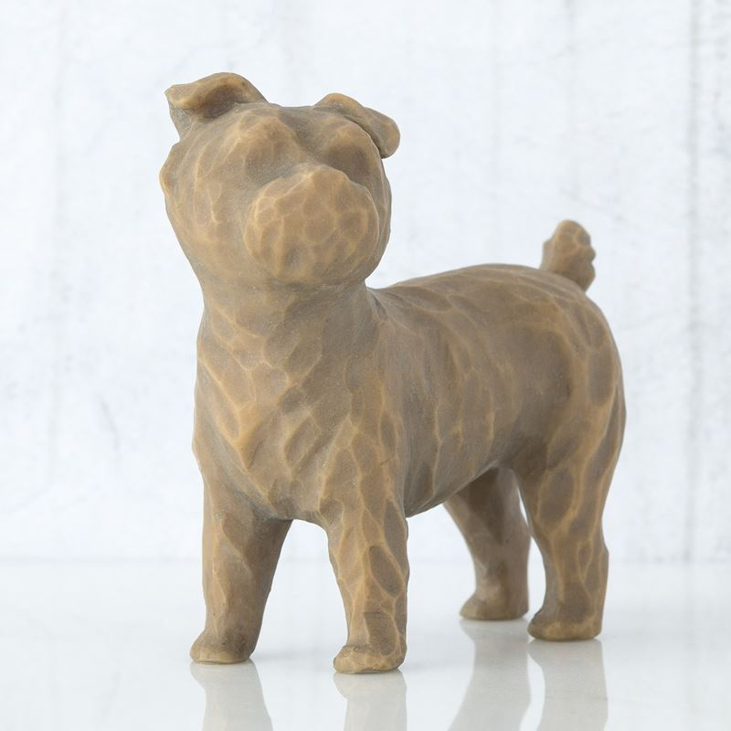 Willow Tree – Love my Dog Standing 5cm