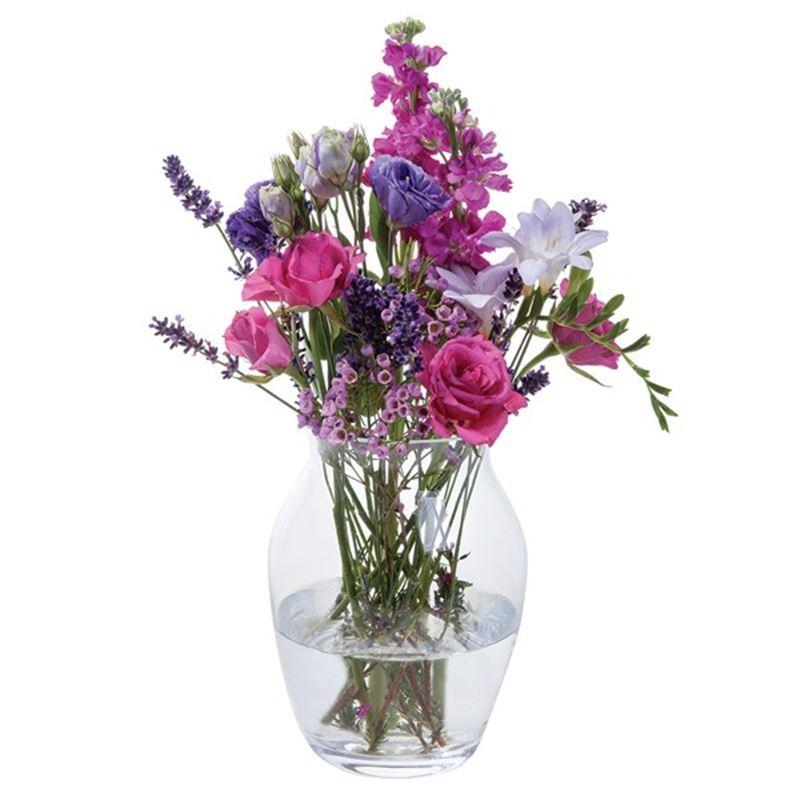 Dartington Crystal – Flower Garden Blossom Vase 21cm (Made in Europe)