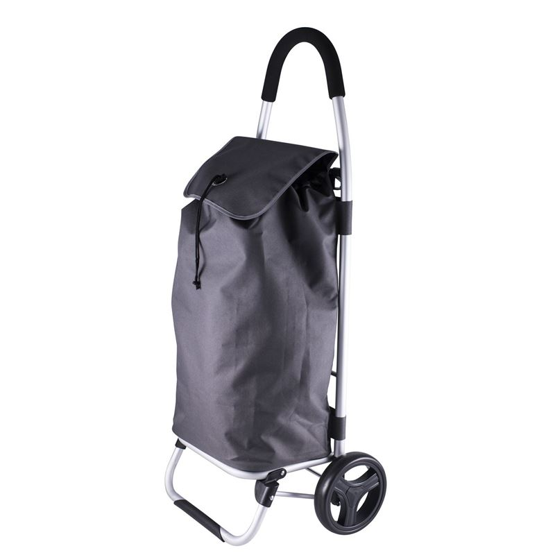 Karlstert – Aluminium Shopping Trolley Grey