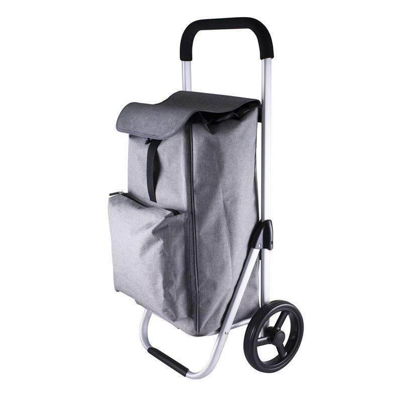 Karlstert – Aluminium Deluxe Shopping Trolley Graphite