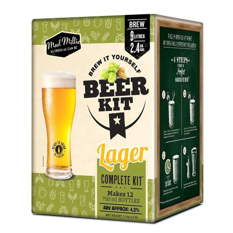 Mad Millie – Brew it Yourself Beer Kit – Lager