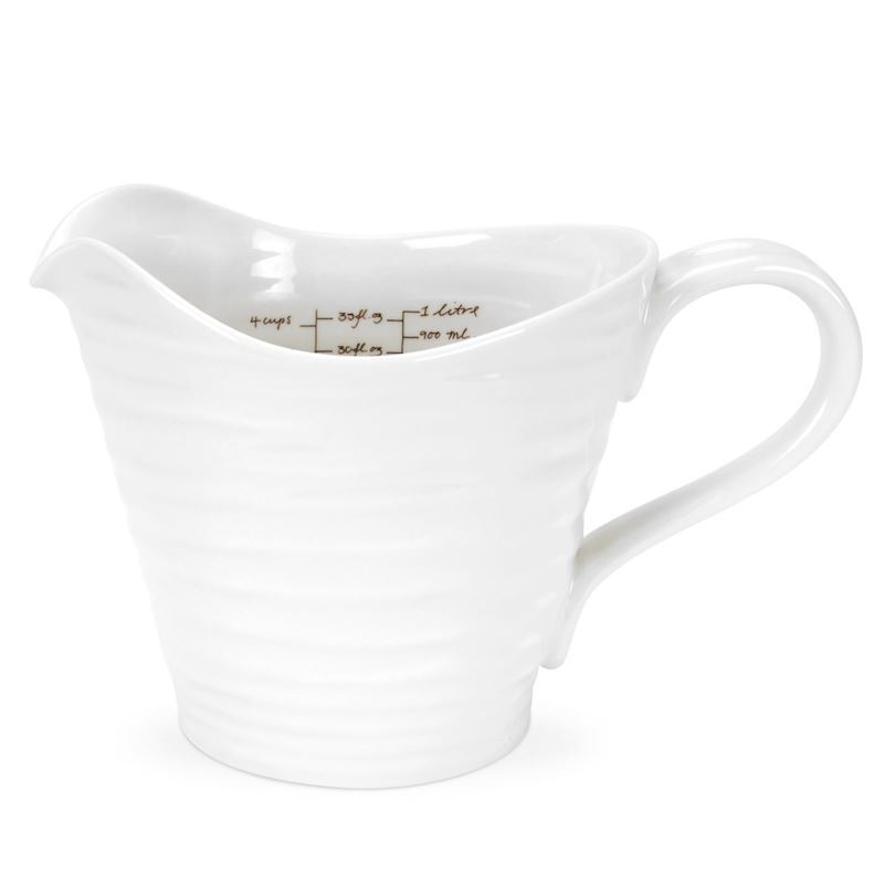 Sophie Conran for Portmeirion – Ice White Measuring Jug 1 Litre
