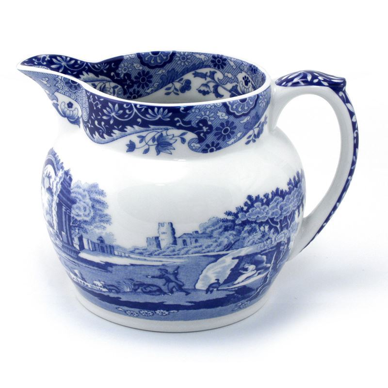 Spode – Blue Italian Milk Jug