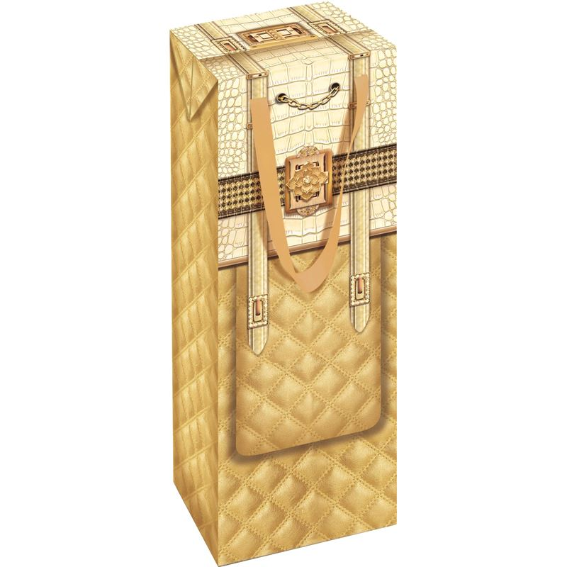 Ogilvies Designs – Gift Bag Box Bottle Bag Bianca