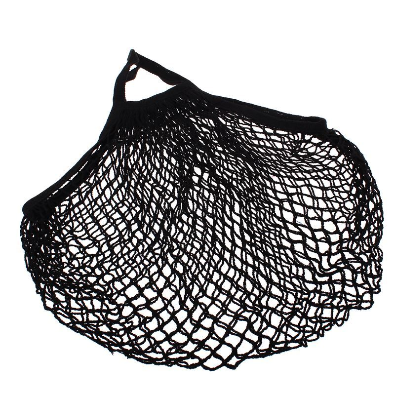 Appetito – String Bag with Short Handle Black