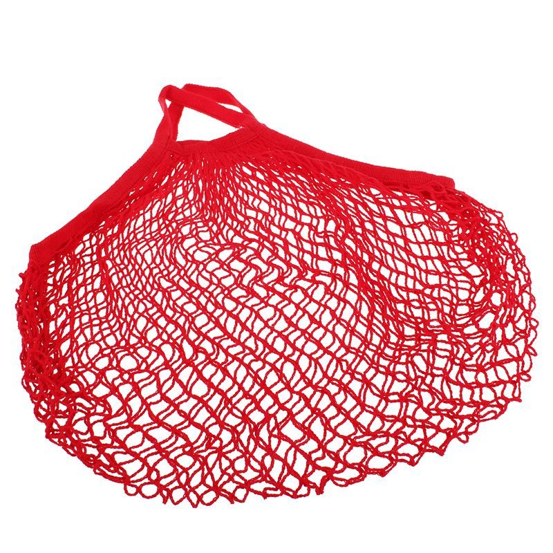 Appetito – String Bag with Short Handle Red