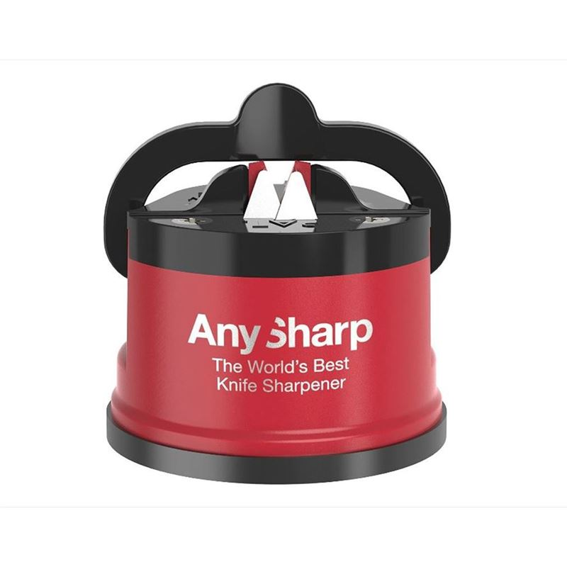 AnySharp – Pro Knife Sharpener Red