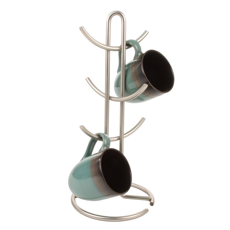 Spectrum – Euro Satin 6 Cup Coffee Mug Tree
