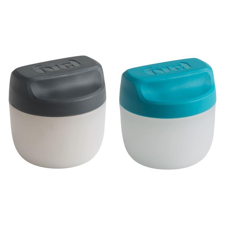 Fuel – Condiment set of 2 Tropical Blue/Charcoal