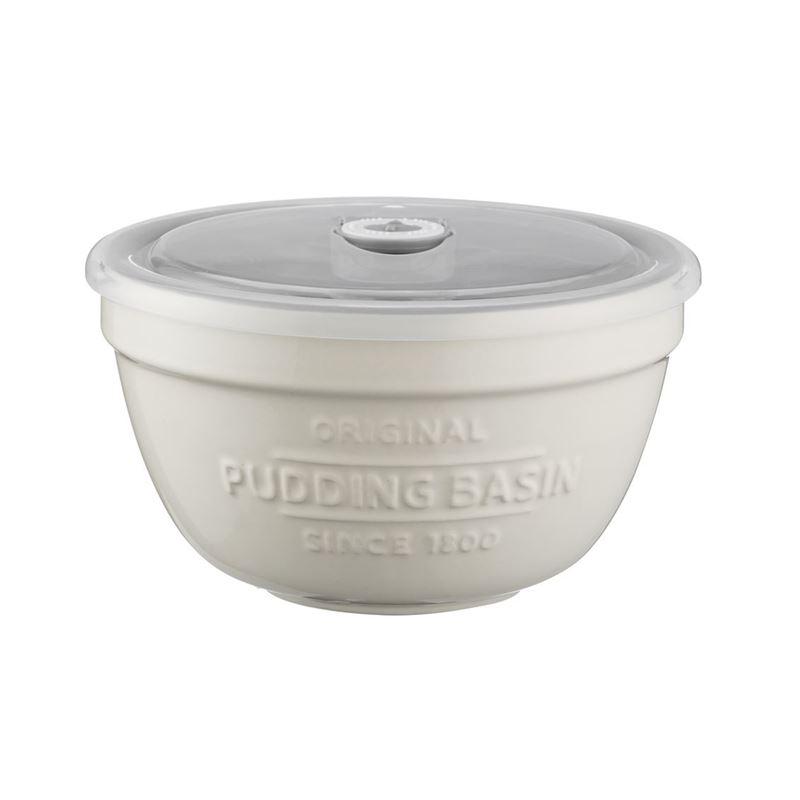 Mason Cash – Innovative Kitchen Pudding Basin 15.5x9cm with Lid 900ml
