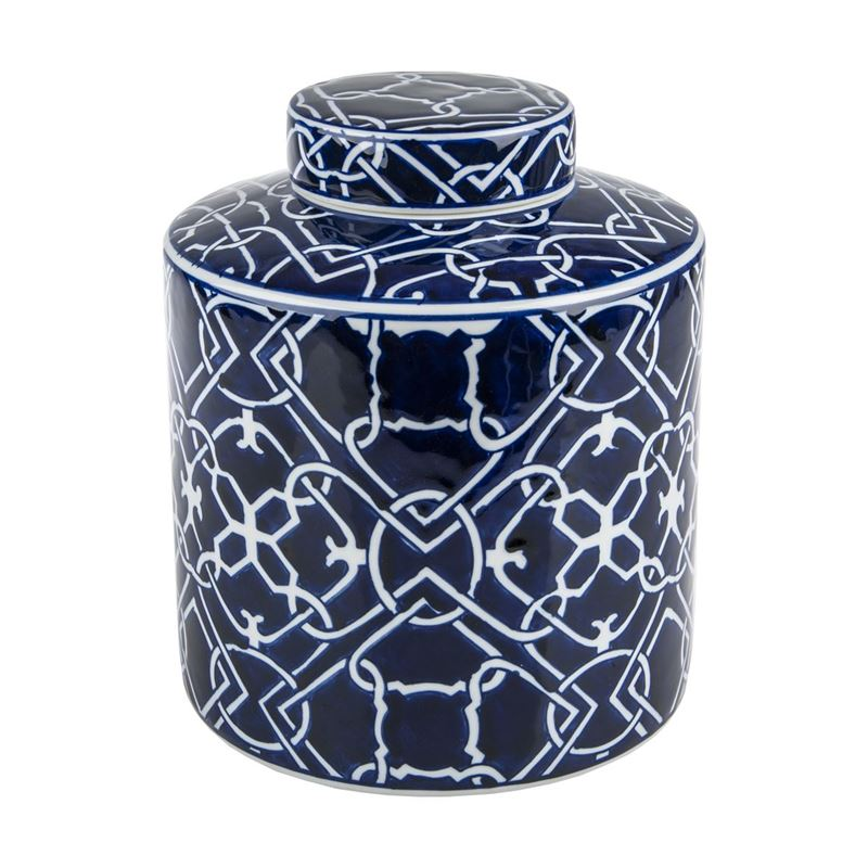 Pimbleton – Chinoiserie Stanton Round Temple Jar 23cm