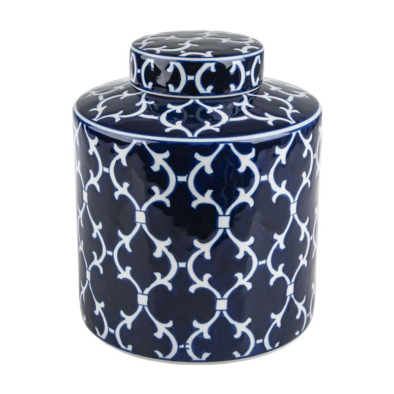 Pimbleton – Chinoiserie Winston Round Temple Jar 23cm