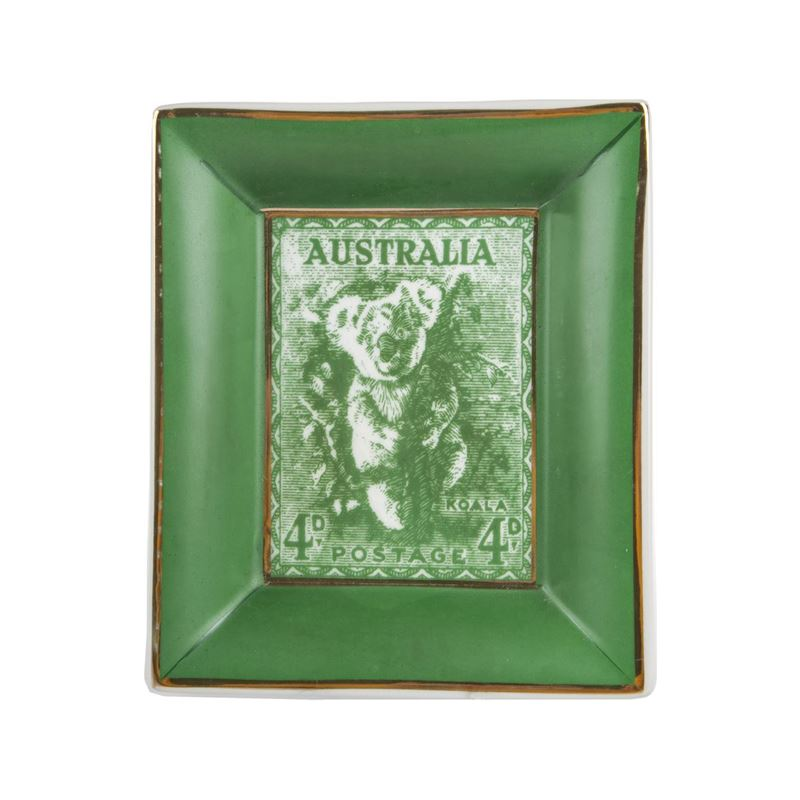 Pimbleton – Australian Stamps Collection Plate Green