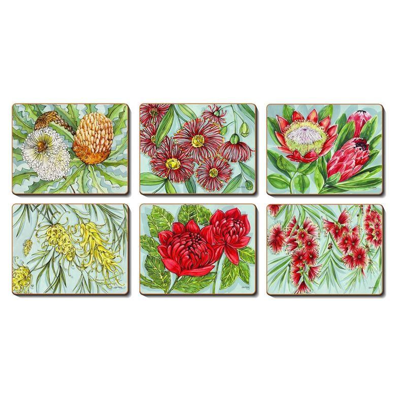 Cinnamon – Bush Blooms Placemat 34×26.5cm Set of 6