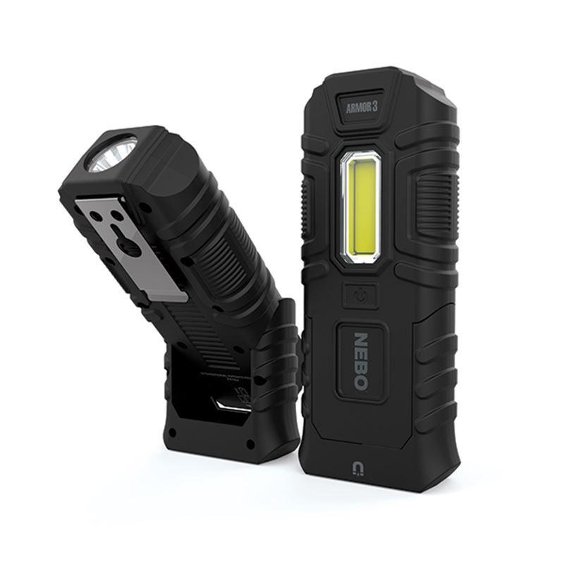 Nebo – Armour 3 Worklight + Spot Light