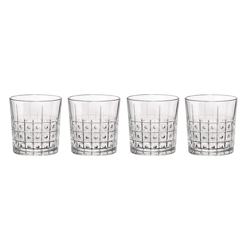 Bormioli Rocco – Este Water Glass 300ml set of 4 (Made in Italy)