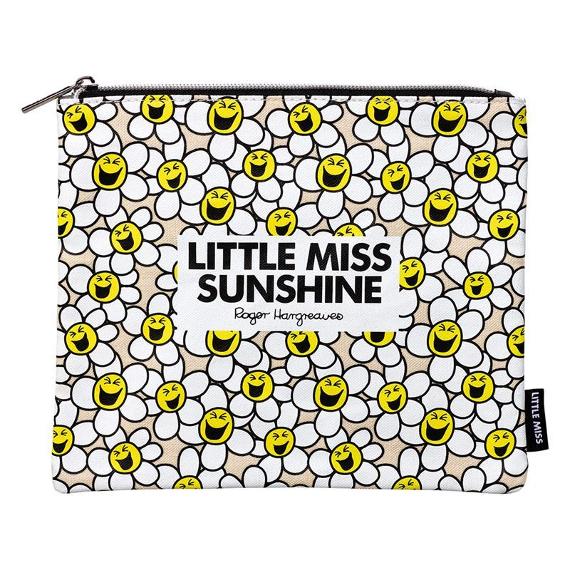Little Miss – Sunshine Laughing Daisies Zippered Pouch