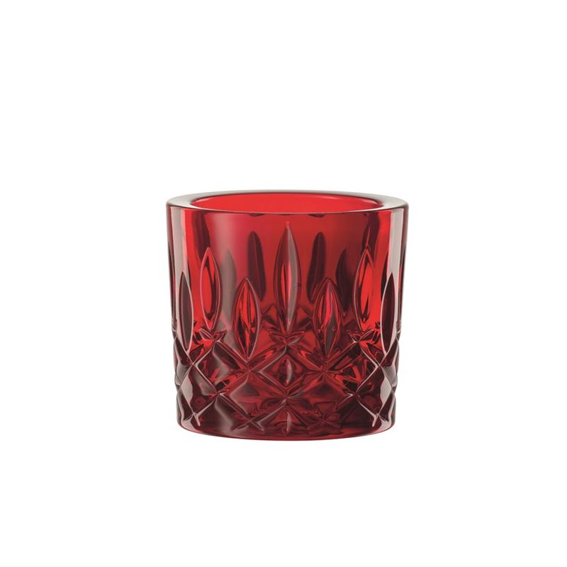 Nachtmann Crystal – Noblesse Votive Red 6.6cm  (Made in Germany)