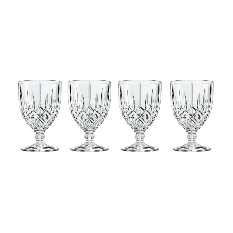 Nachtmann Crystal – Noblesse Goblet Small 230ml Set of 4 (Made in Germany)
