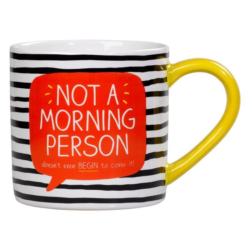 Happy Jackson – 400ml Ceramic Mug Not a Morning Person