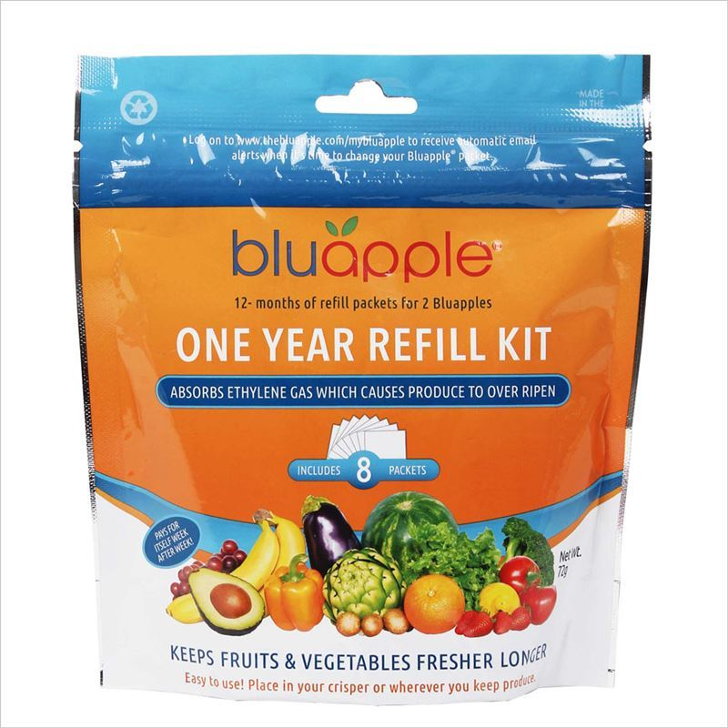 Blueapple – Classic One-Year Refill Kit – 8 Satchel Refills